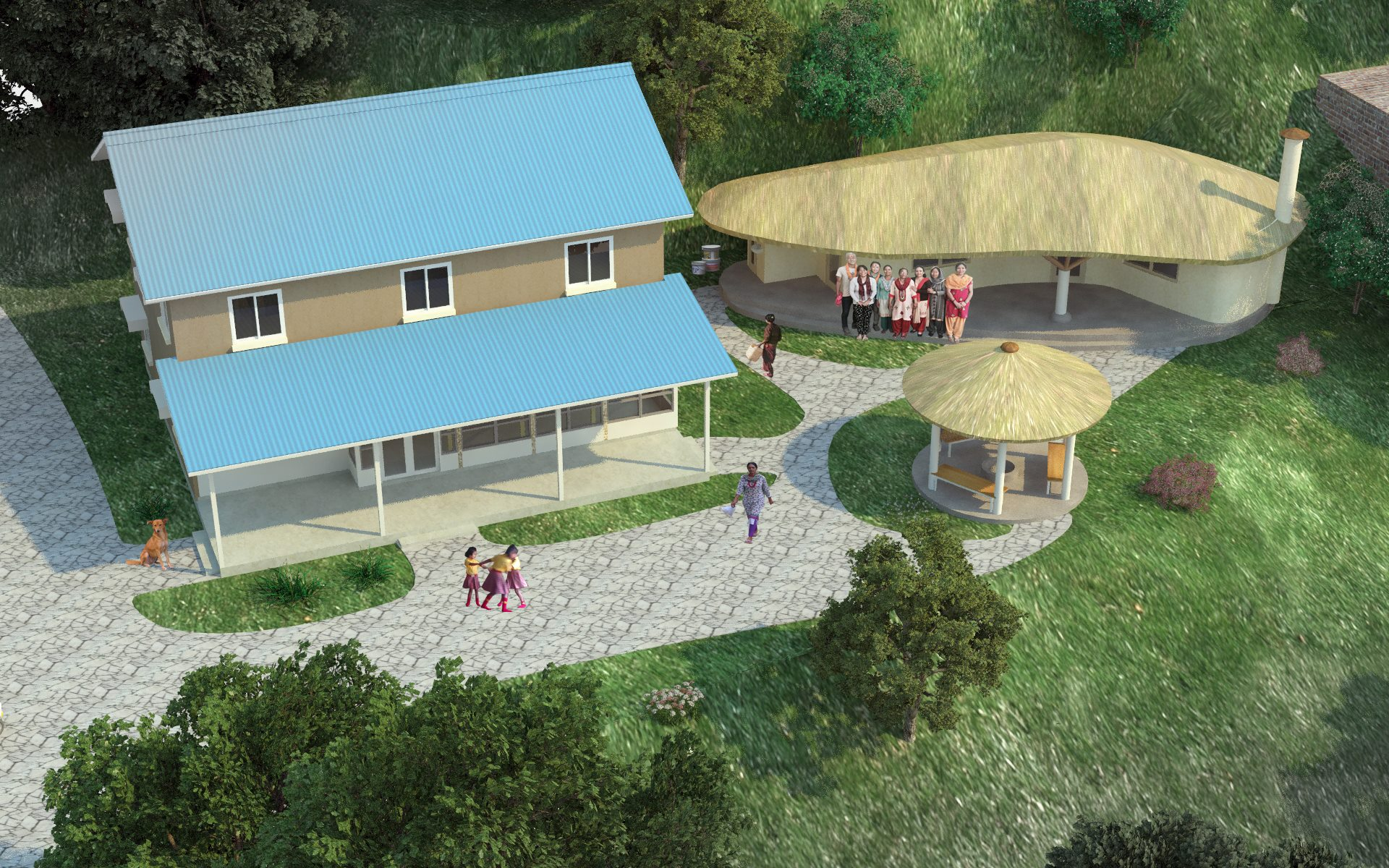 Construction of Shelter Home for Women and Children living with HIV|AIDS.